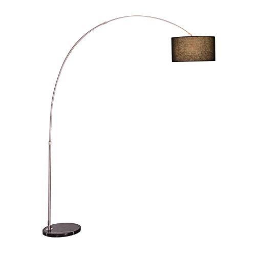 Yexin lampada da terra a led lampada da tavolo da lettura, lampada da terra ad arco classica con paralume a sospensione per soggiorno, camera da letto, ufficio den, lounge, lampada da comodino a rispa