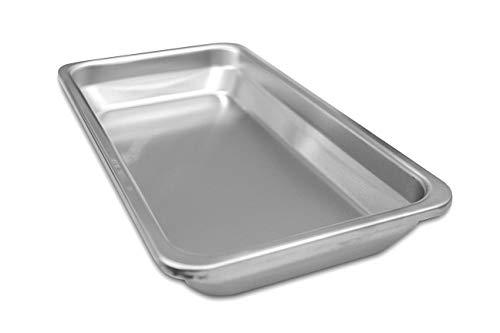 intergrill 800° Grill Gastroschale 29 x 15,8 x 4 cm für Standard Pure Light Elektrogrill Grillschale Auffangschale Fettschale Behälter Restaurant (Standard Tief) -