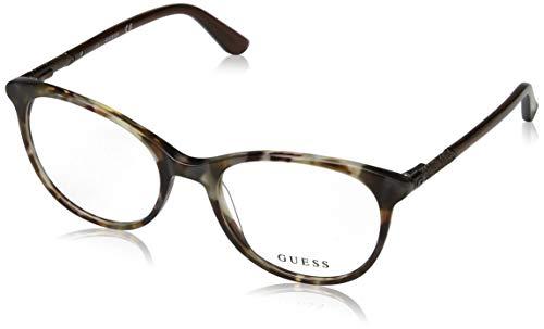 Guess Damen Optical Frame Gu2657 053 52 Brillengestelle, Braun,