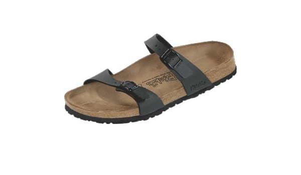 Birki 's?�C?Sandali unisex nero Size: 41 Estrecho