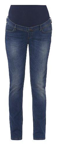 NOPPIES Femmes Coupe Straight-Leg Jeans de maternité jeans Lois PLUS 46 - 54 délavé