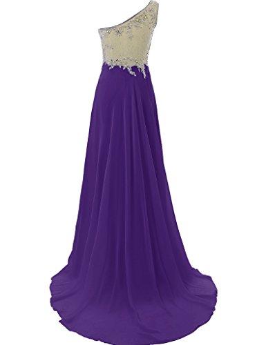 HUINI -  Vestito  - Donna Purple
