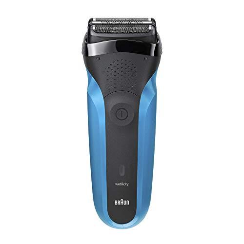 Braun Series 3 310 Afeitadora Eléctrica, Maquinilla Wet & Dry para Barba Hombre con 3 Láminas Flexibles...