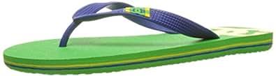 DC Men's Spray Sandal, Lime Green/Olympian Blue, 6 D US