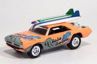 Preisvergleich Produktbild Johnny Lightning Surf Rods - Oahu Wahoos - L.A. Dart 1970 Dodge Dart 1/64th by Johnny Lightning