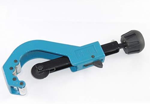 Rohrschneider Rohrabscheider Rohrschneid-werkzeug für Kupfer Kupferrohr Edelstahl Edelstahlrohr Schlauch Mehrlagen Blau