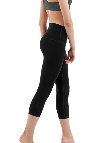 chicmoda-yoga-pants-womans-high-rise-yoga-capris-hidden-pocket-black-size-xl