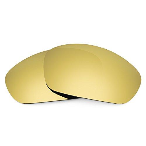 Revant Ersatzlinsen für Oakley Straight Jacket (2007) Polarisierung Elite Gold MirrorShield®