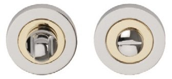 Excel Hardware Orbit Designer Bathroom Turn & Release - Polished Brass / Chrome
