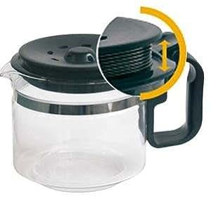 Moondocom - Verseuse universelle pour cafetière - 9/12 tasses adaptable en hauteur 10 à 12 Cm