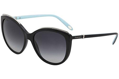 Tiffany 0ty4134b 80013c 56, occhiali da sole donna, nero (black/gradient)