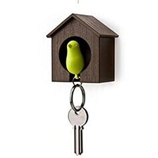 ankeer Sparrow Schlüsselhalter Vogelhaus Schlüsselanhänger Bird Nest Wandhaken