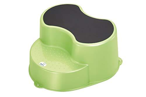 Rotho Babydesign TOP Kinderschemel, Anti-Rutsch-Trittfläche, TOP, Lindgrün, 200050139