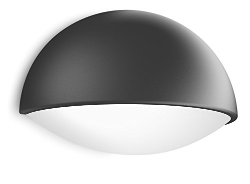 Applique murale anthracite for Luminaire exterieur murale led