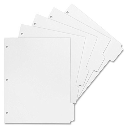 Sparco Reproducible Indexed Sheet Dividers, White (SPR02077) Category: Index Tabs and Dividers by Sparco