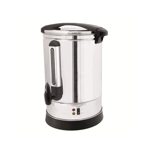 LLOYTRON 20 Litre 2500w Stainless Steel Catering Urn/Water Boiler/Anti-drip Tap/Water Level Indicator/Drip Tray/Auto Re…