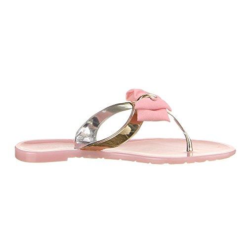 Ital-Design - Sneaker Donna Rosa (rosa)