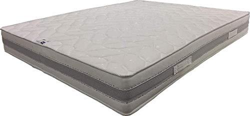 King of Dreams Matelas Ressorts 140x190 - Soutien Très Ferme - 23 cm Très ventilé - Orthopédique Bed Dream (140_x_190_cm)
