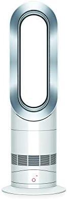 Dyson Air Multiplier AM09 Hot + Cool - Ventilador / calefactor de mesa, tecnología Jet Focus, control remoto d