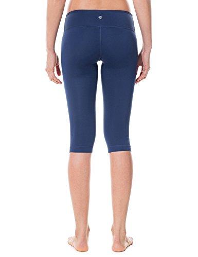 CRZ YOGA Damen Sport Yoga Leggings – Capri Tights - 3