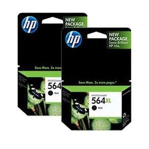Original HP 564X L Druckerpatrone 2er Pack in Einzelhandelsverpackung. USA Markt nur. Nicht EU oder grau Markt Französischer Importe. CN684WN # 140 (Hp 564 Drucker)