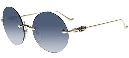 Chrome Hearts Sonnenbrillen OVARYEASY II SILVER/BLUE SHADED Damenbrillen