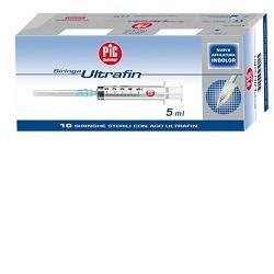 Siringa Sterile Monouso Capacita' 2,5Ml Con Ago14 Gauge23 10 Pezzi