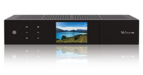 VU+ Duo 4K 1x DVB-S2X FBC Twin Tuner PVR ready Linux Receiver (UHD 2160p) Schwarz