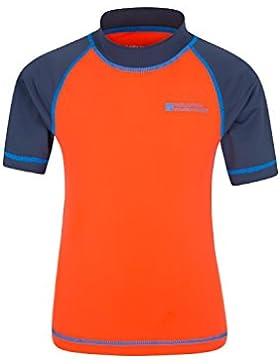 Mountain Warehouse Camiseta térmica de manga corta para niños - Camiseta térmica con protección solar UPF50+,...