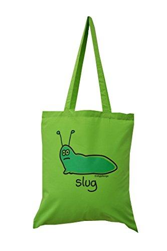 shopping-bag-verde-con-una-lumaca