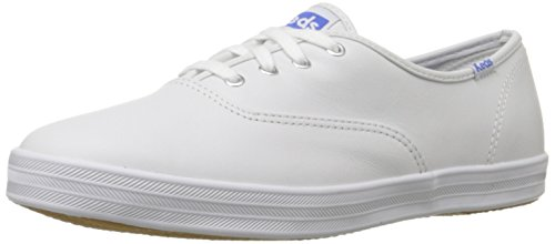 Keds Champion Cvo, Sneaker donna Bianco White Leather 6 UK 2E