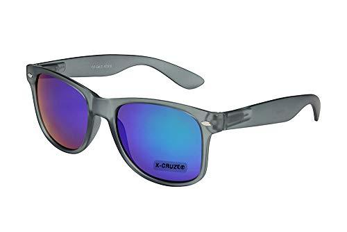 X-CRUZE 8-110 X0 Nerd Sonnenbrille Retro Vintage Design Style Stil Unisex Herren Damen Männer...