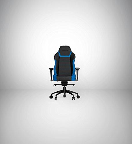 Vertagear PL6000 – Silla (Asiento duro, Respaldo duro, Negro, Azul, Negro, Azul, Negro, Espuma, PVC)