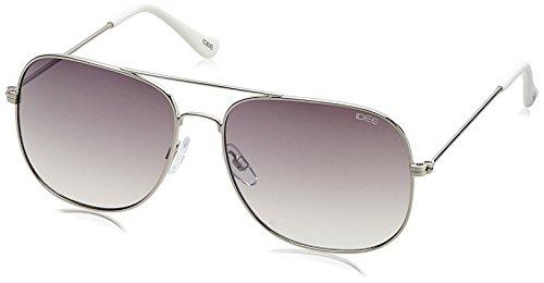IDEE Gradient Square Men's Sunglasses - (IDS2069C4SG|58 White Mirror lens) image