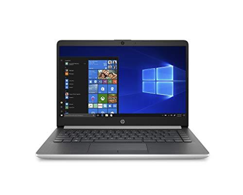 HP 14-DK0001NL Notebook, Windows 10 Home, Processore AMD Ryzen 3 3200U, RAM 8 GB, SSD da 256 GB, Display 14' FHD Antiriflesso, Argento Naturale