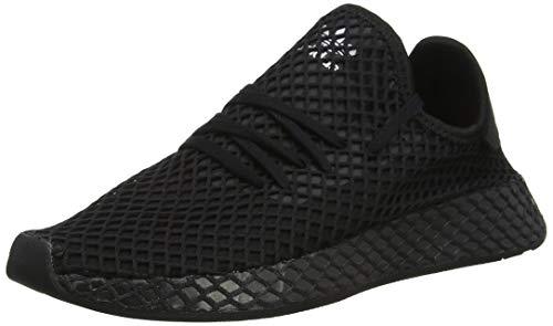 Adidas Unisex-Erwachsene Deerupt Runner J Fitnessschuhe, Schwarz(core black/core black/ftwr white), 38 EU(5 UK)