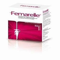 Femarelle® Natural Relief for Menopause & Bone Health, 56 Capsules