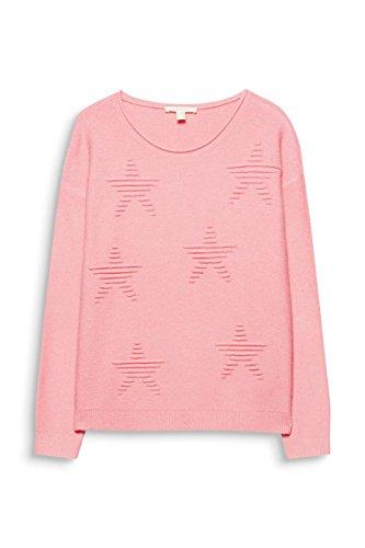ESPRIT Damen Pullover Rosa (Pink 670)