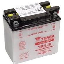 Yuasa YB7L-B Bateria - 12V 8Ah