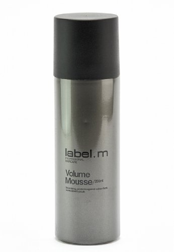 Label. M Volume Mousse - 6.76 oz by Label.M Professional Haircare BEAUTY (English Manual)