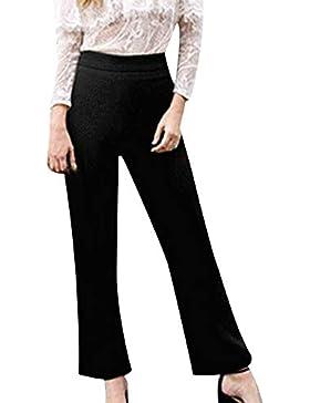 Ansenesna Pantalones Mujer Elast
