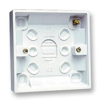 Pro Elec-singola montaggio superficiale scatola standard, 32mm