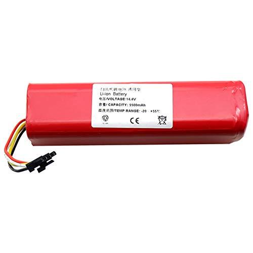 TOOGOO 5500Mah Li-Ion 18650 Batterie Fuer Mi Saugroboter Robotik Reiniger Mi Roboter Staubsauger Zubeh?r Roborock S50 S51