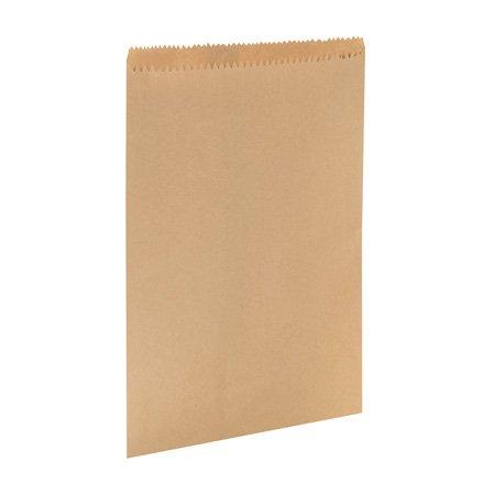 Papiertüten braun / Ausführung: Butterbrotbeutel, 19 x 21 cm, braun, mit Zähler, Staubsaugerbeutel, für Lebensmittel geeignet, Staubsaugerbeutel, x 500 (Lebensmittel Kosten)