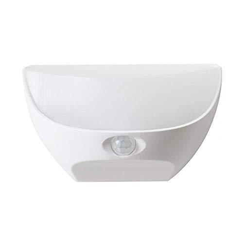 ZEEFO Nachtlichter helle wasserdichte IP44 Bewegungs Licht Sensor LED Wand Nachtlicht mit Wiederaufladbare Lithium-Batterie gespeist Lampe für Kinder, Eingang Gartenküche Flur Badezimmer Wand Licht (Wasserdicht Bewegungs-sensor-licht)