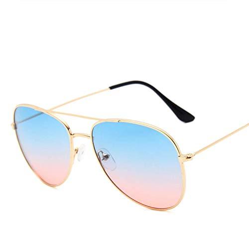 FIRM-CASE Metal Sonnenbrille Männer Frauen Maxi-Rahmen Sonnenbrillen Qualität Photochromie Objektiv Brillen, 6 -