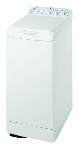 """Indesit WITL 1051 (EU) Waschmaschine Toplader / A+C / 1000 UpM / 5 kg / Time 4 you Sport Programme / Wollprogramm """"Handwäsche"""", weiß"""