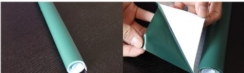 Pegatina de Pizarra Verde AGPtek ® para pared 200 x 45cm