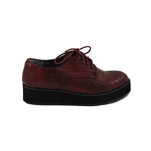 Benavente , Chaussures de ville à lacets pour femme Bordeaux