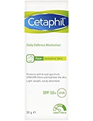 Cetaphil Daily Defence Moisturiser with SPF 50 Plus, 50 g